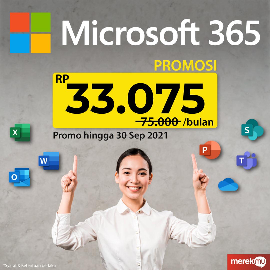 Microsoft 365 Promo - 30 Sept 2021