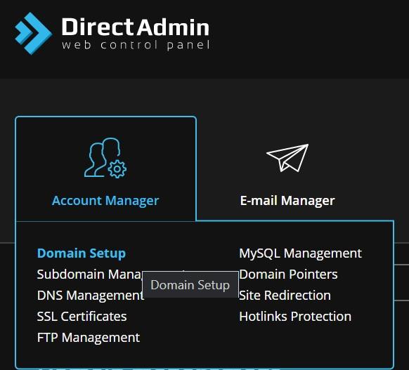 Addon Domain di DirectAdmin